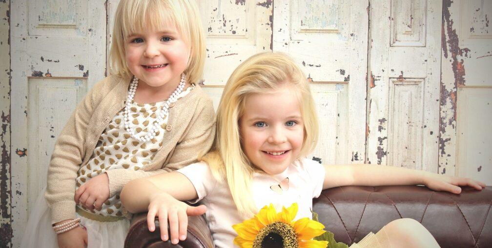 twee lieve zussen